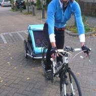 Eerste fietsritje samen